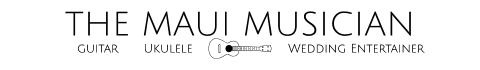 The Maui Musician Logo